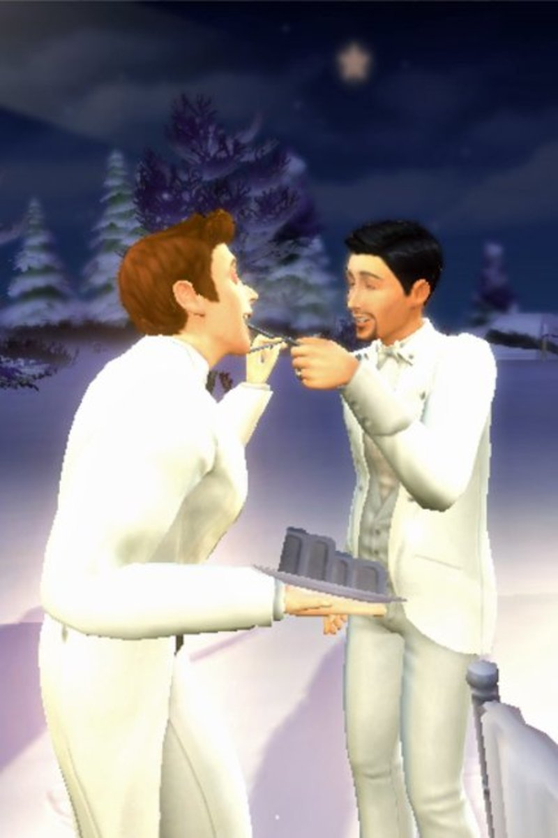 "You can get very creative with weddings in ""The Sims."""