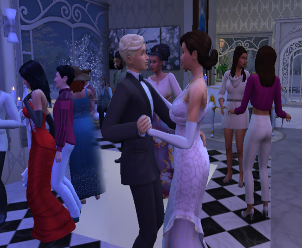 Whether your Sims like dancing till dawn, ice skating, rock climbing or nude sunbathing, just make their wedding include something fun.