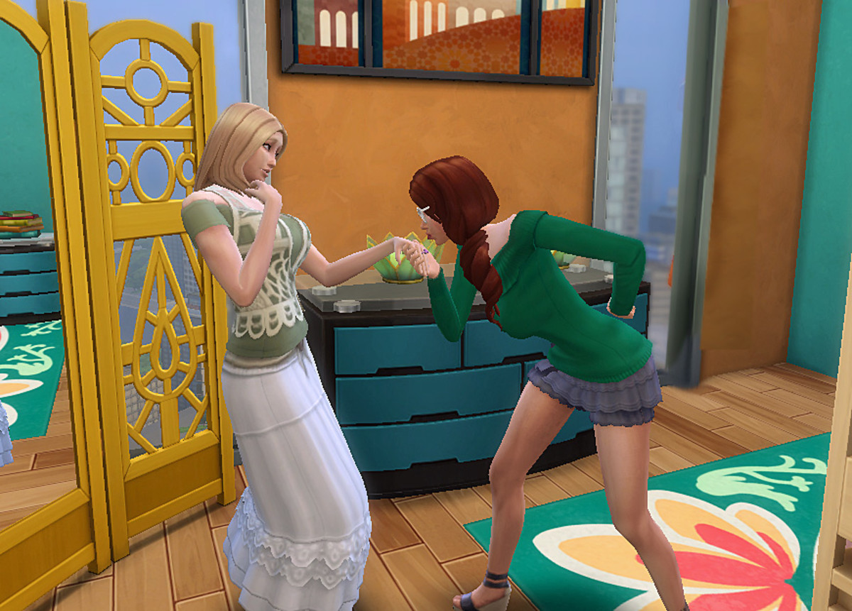 It's nice to see your Sims get spontaneous and choose their own partners.