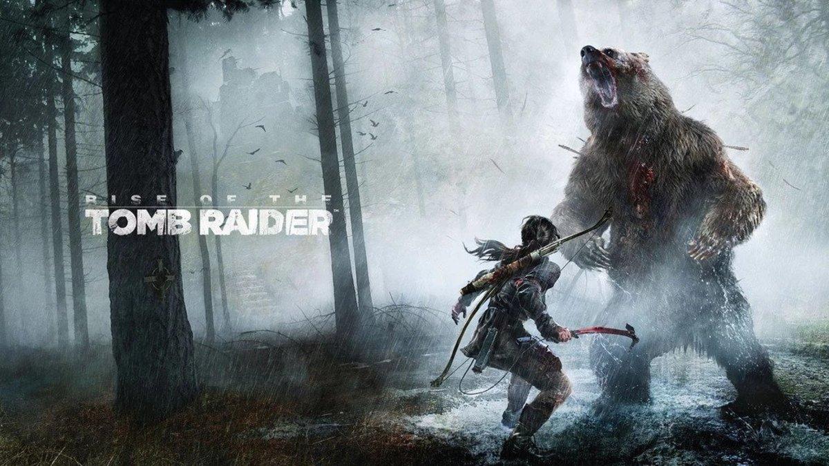 """Tomb Raider"" Cover Art"