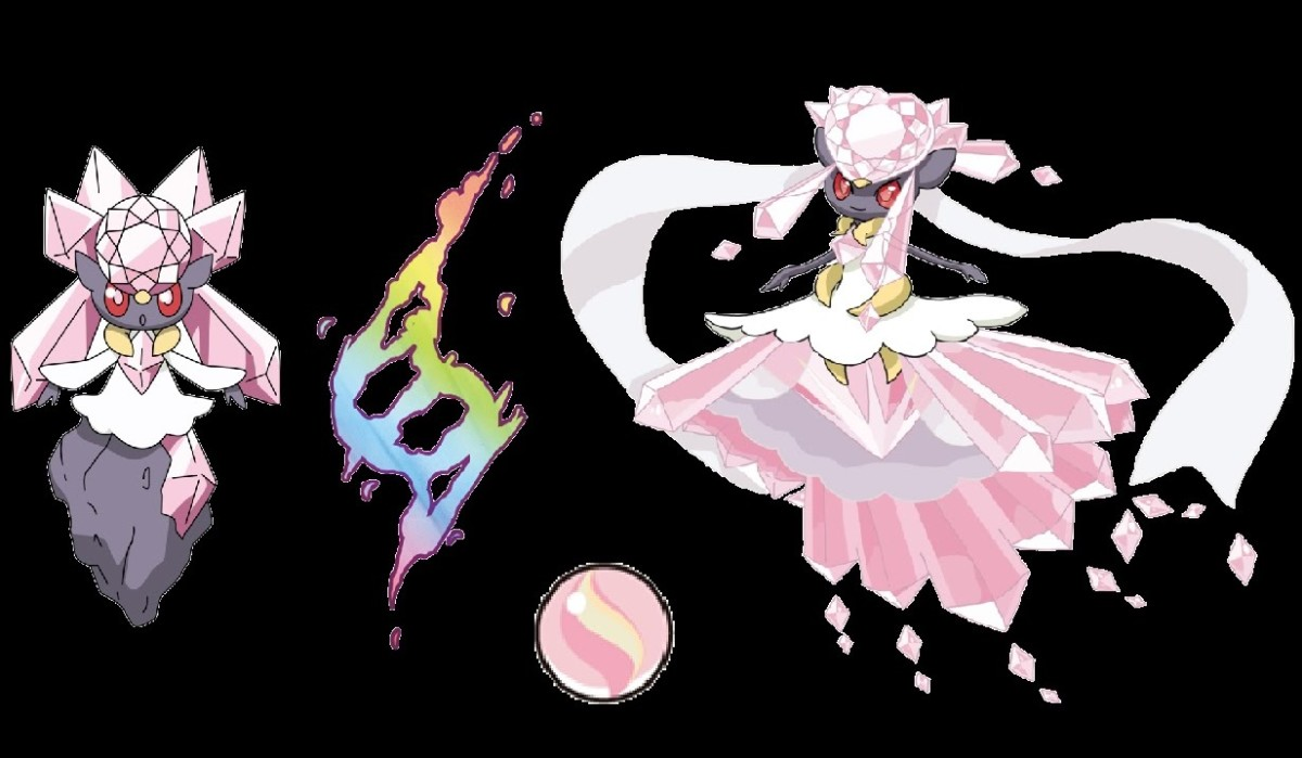 Diancie and Mega Diancie