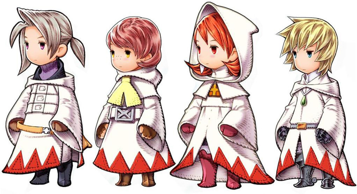 "White Mages ""FF3"""