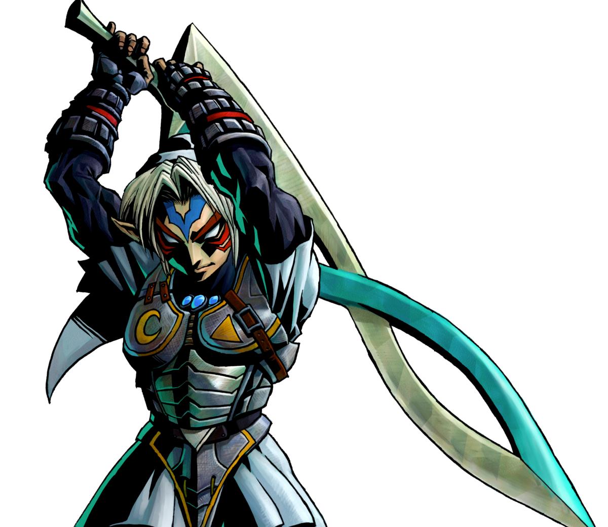 Fierce Deity Link and Sword