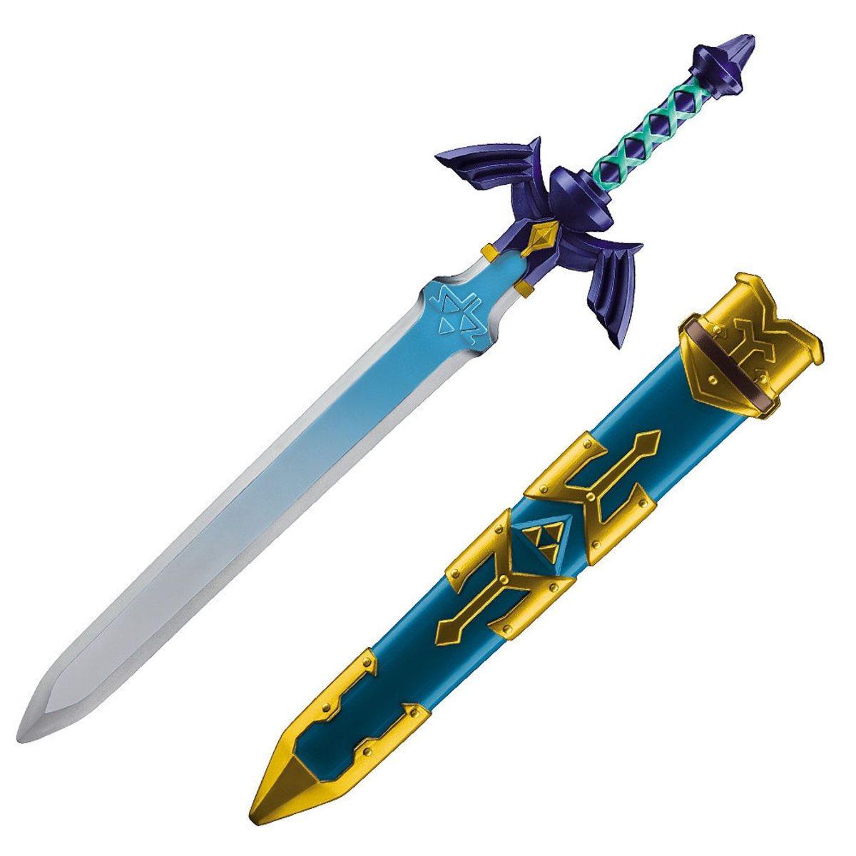 Master Sword and sheathe