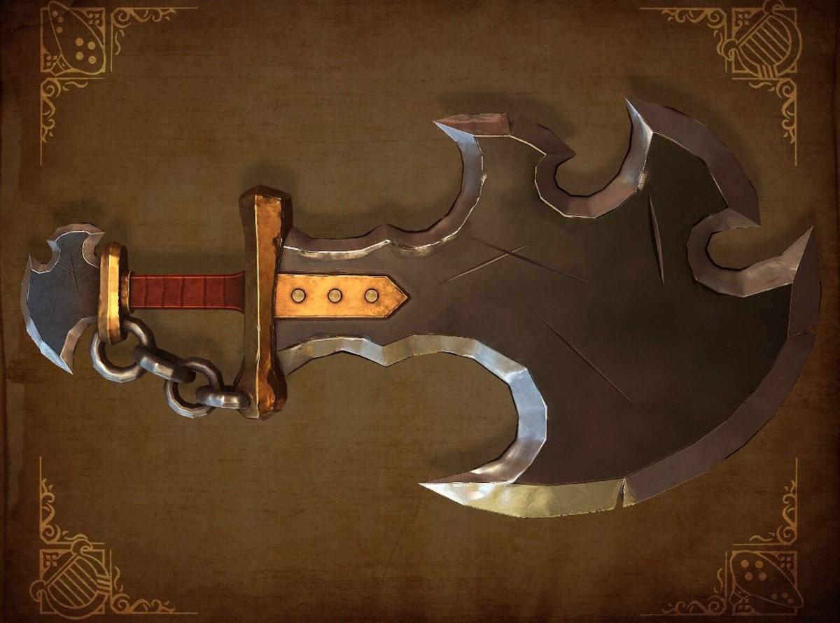 Savage Lynel Sword