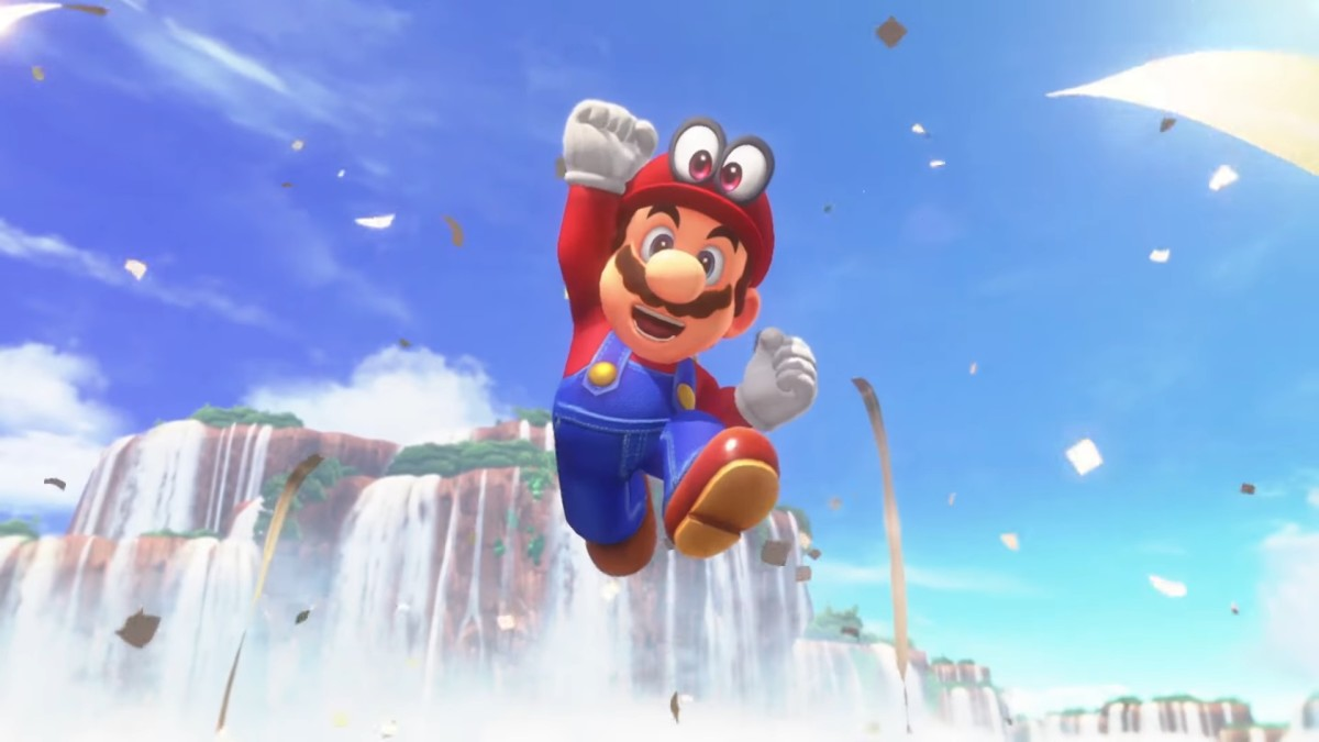 Mario is an absolute joy to control.