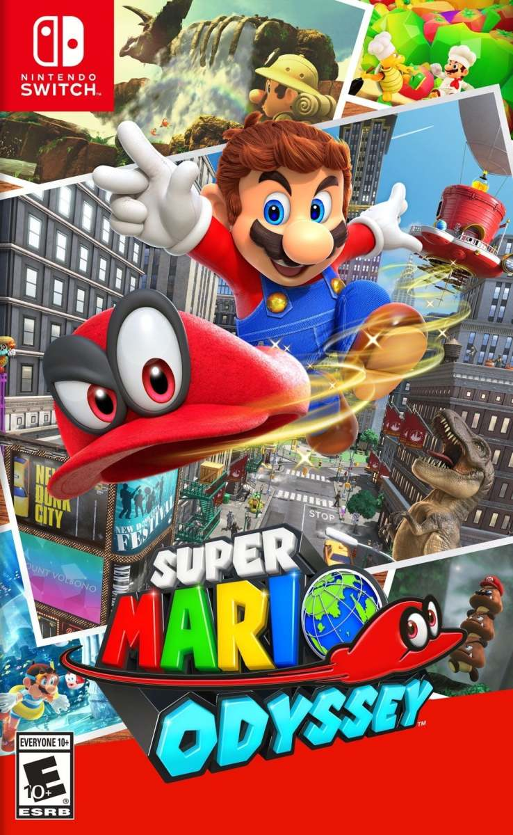 """Super Mario Odyssey"" Cover Art"