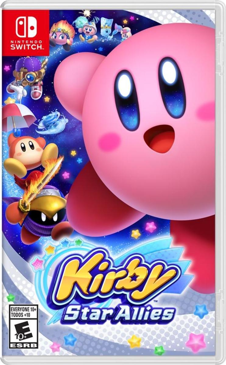 """Kirby Star Allies"" Cover Art"