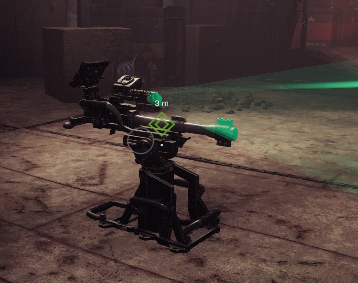 """GTFO"" shotgun sentry turret"