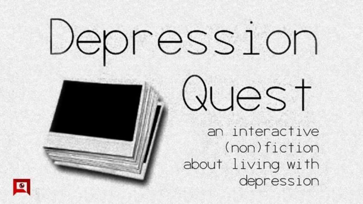 I'm doing a series on depression in popular media.