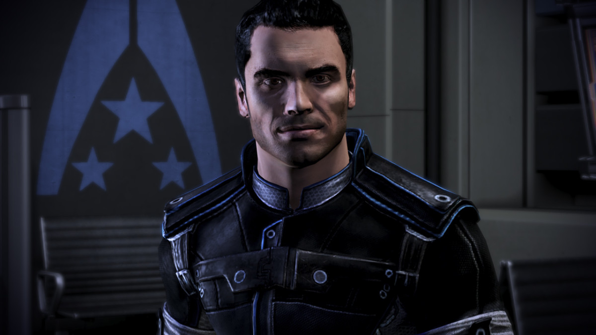 "Kaidan as he appeared in ""Mass Effect 3."""