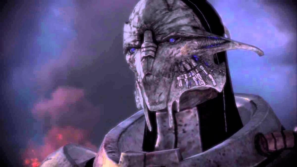 "Saren on Virmire in the first ""Mass Effect."""