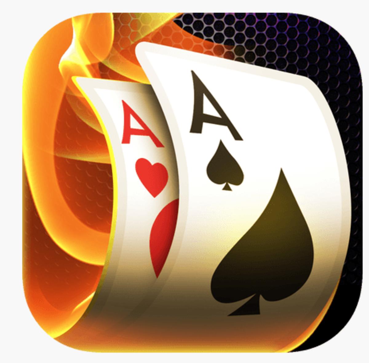 "The ""Poker Heat"" app icon."