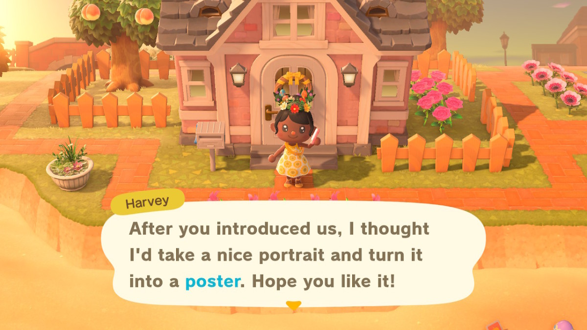 After visiting Harv's Island and playing with villagers or Amiibos, you'll be able to order their posters from the Nook Stop machine.