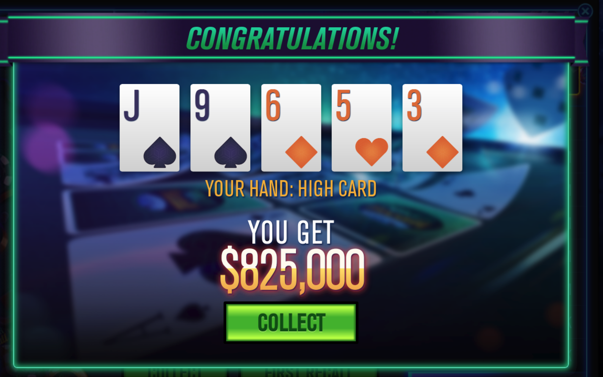 You get chips from playing Poker Recall.