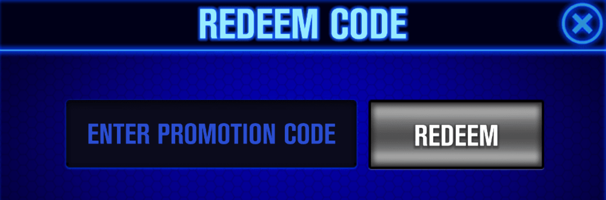 "This is how you enter promotion codes in ""WSOP""."