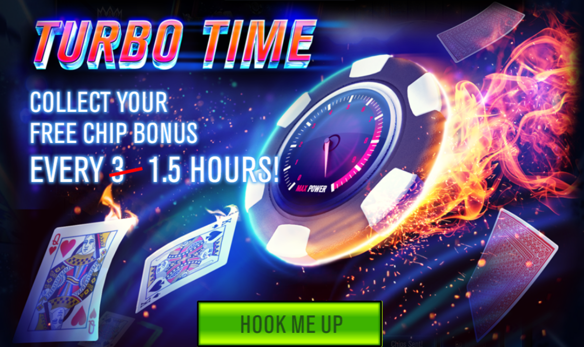 A popup explaining Turbo Time.