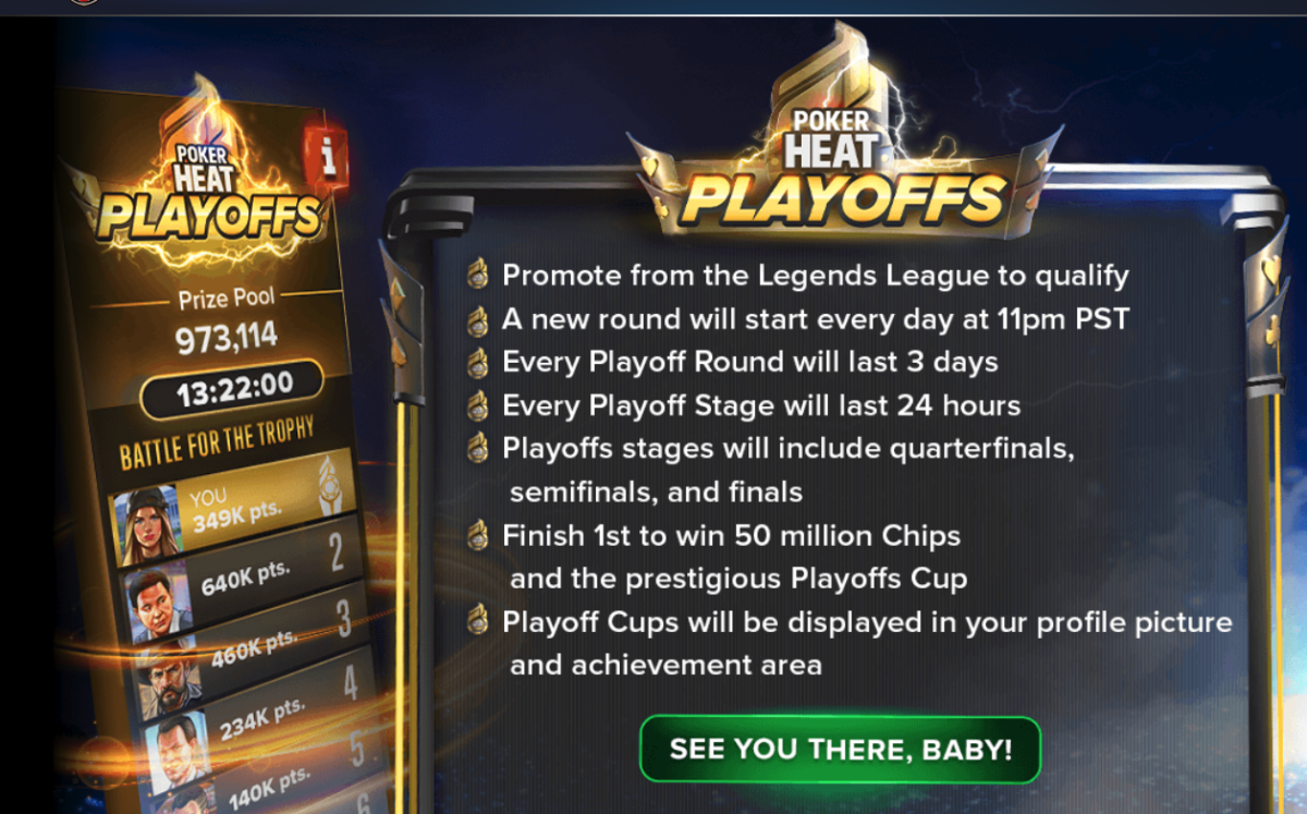 The about the Playoffs screen.