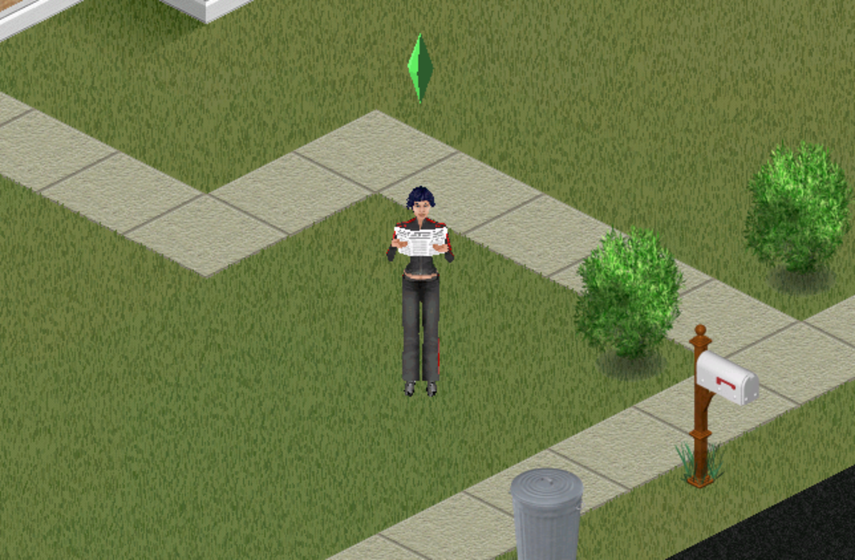 My Work Sim trying to put her charisma and body skills to actual use.