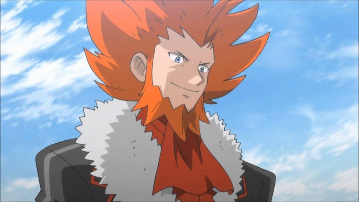 Lysandre in the anime