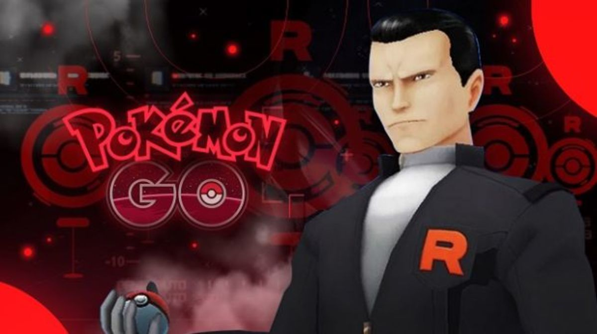 Giovanni in Pokémon GO