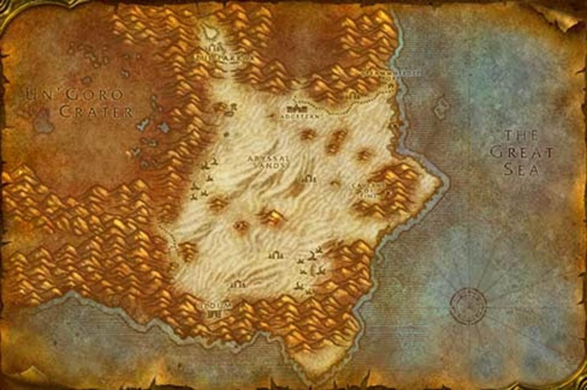 horde leveling guide tanaris