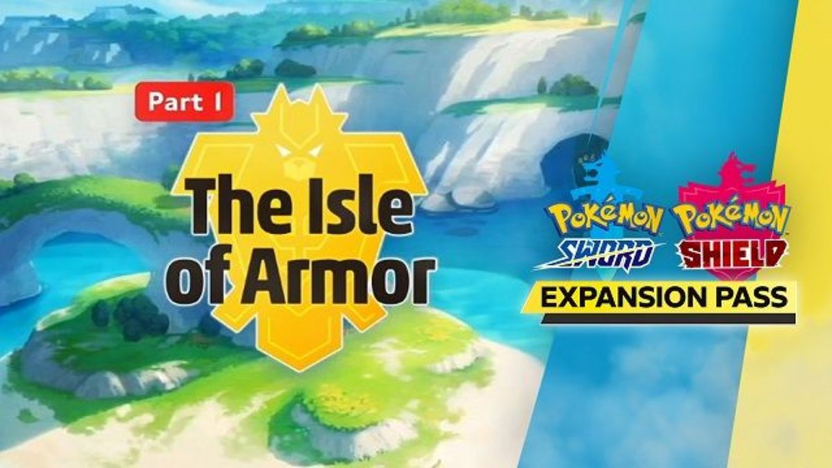 "The latest DLC expansion: ""The Isle of Armor"""