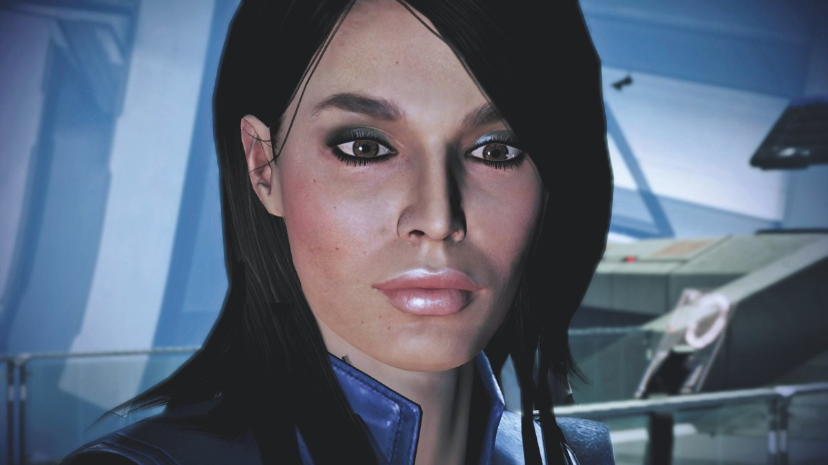 """Ashley Williams as she appeared in """"Mass Effect 3."""""""