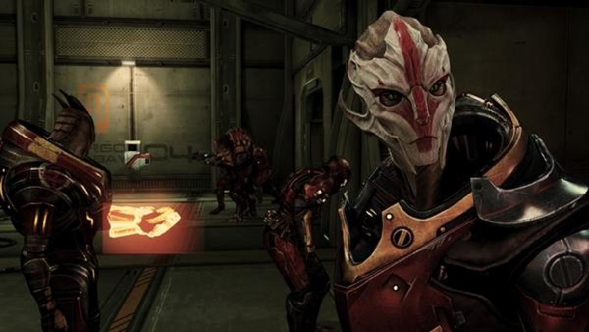 """Nyreen as she appeared in """"Mass Effect 3."""""""