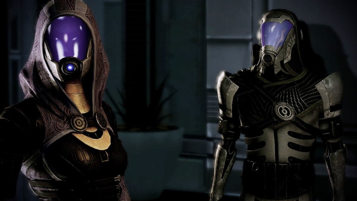 "Tali on Freedom's Progress in ""Mass Effect 2."""