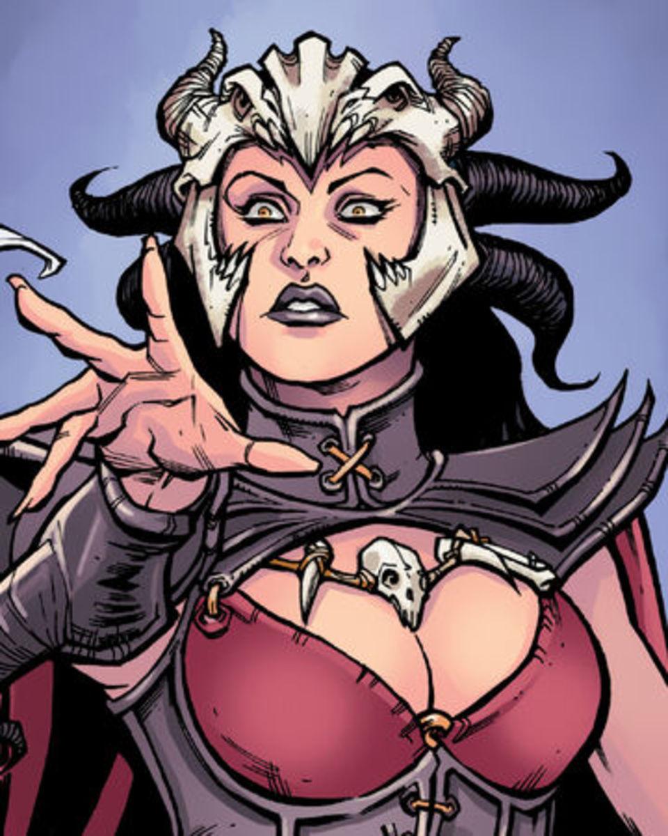 Morrigan's sister, Yavana.