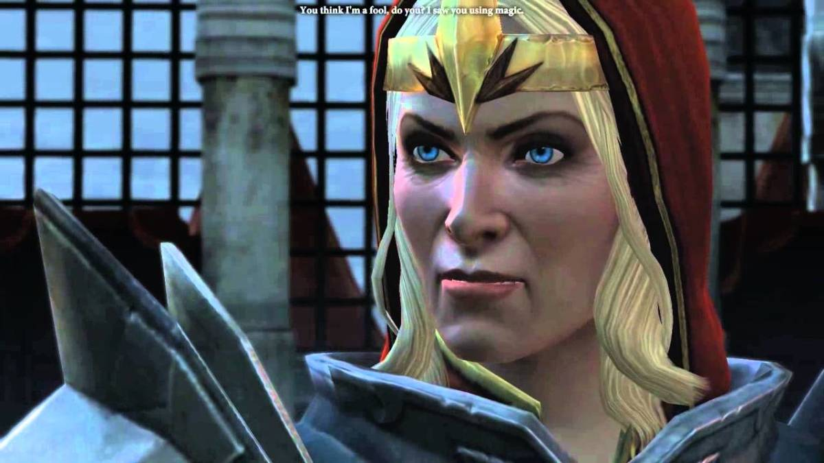 "Meredith as she appeared in ""Dragon Age 2."""