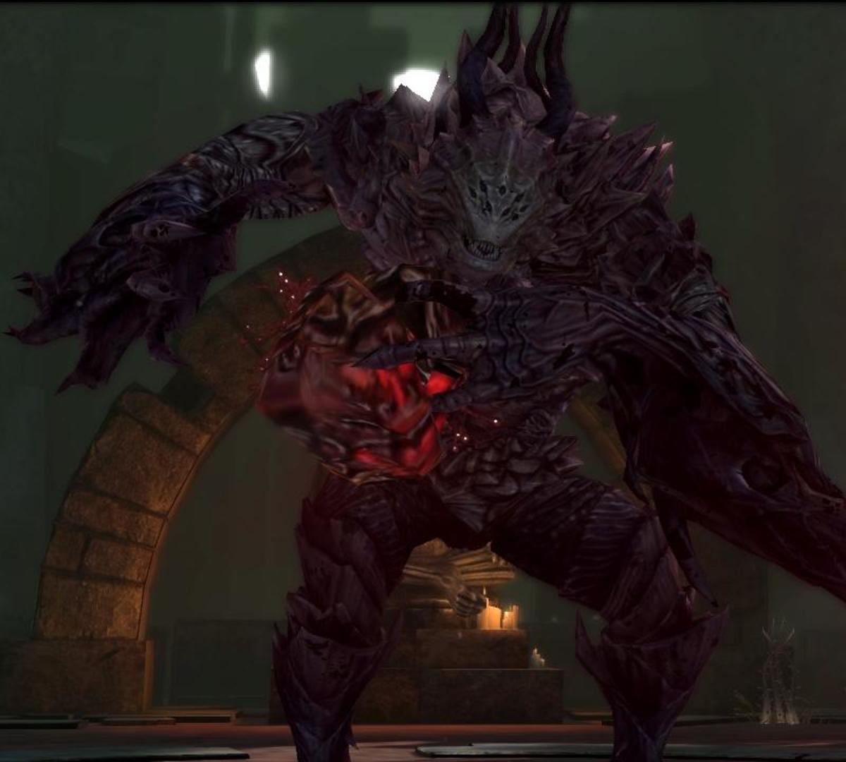 """Merrill's pride demon from """"Dragon Age 2."""""""