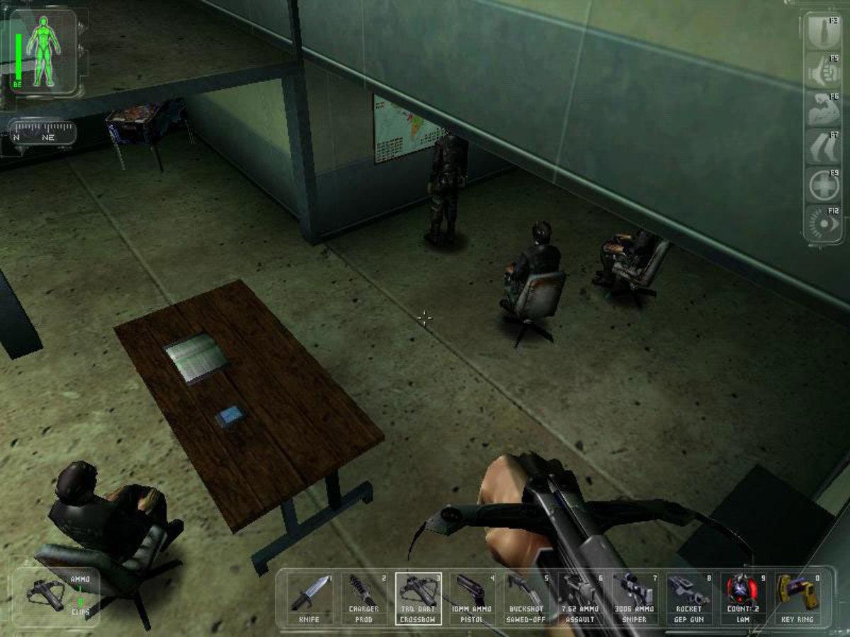 """Deus Ex"" Screenshot"
