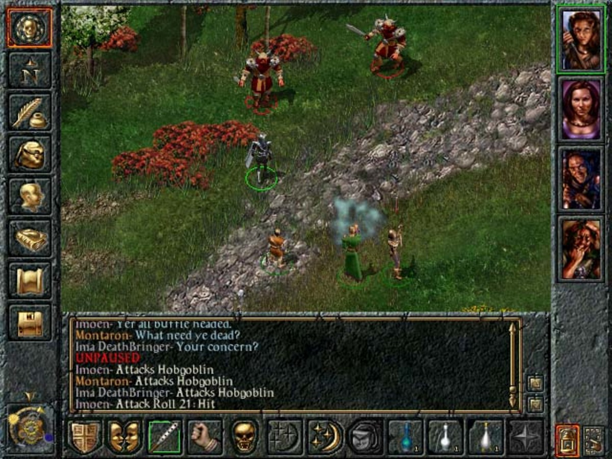 """Baldur's Gate"" Gameplay"