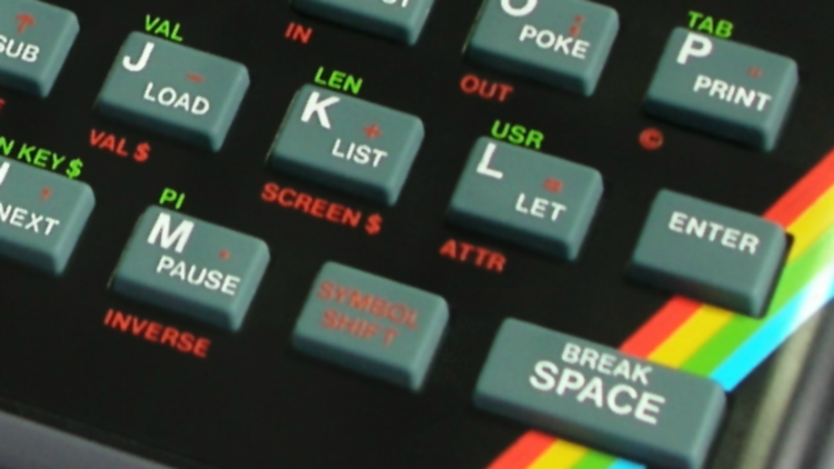 I remember my life before a Space Bar! ZX Spectrum rubber keys