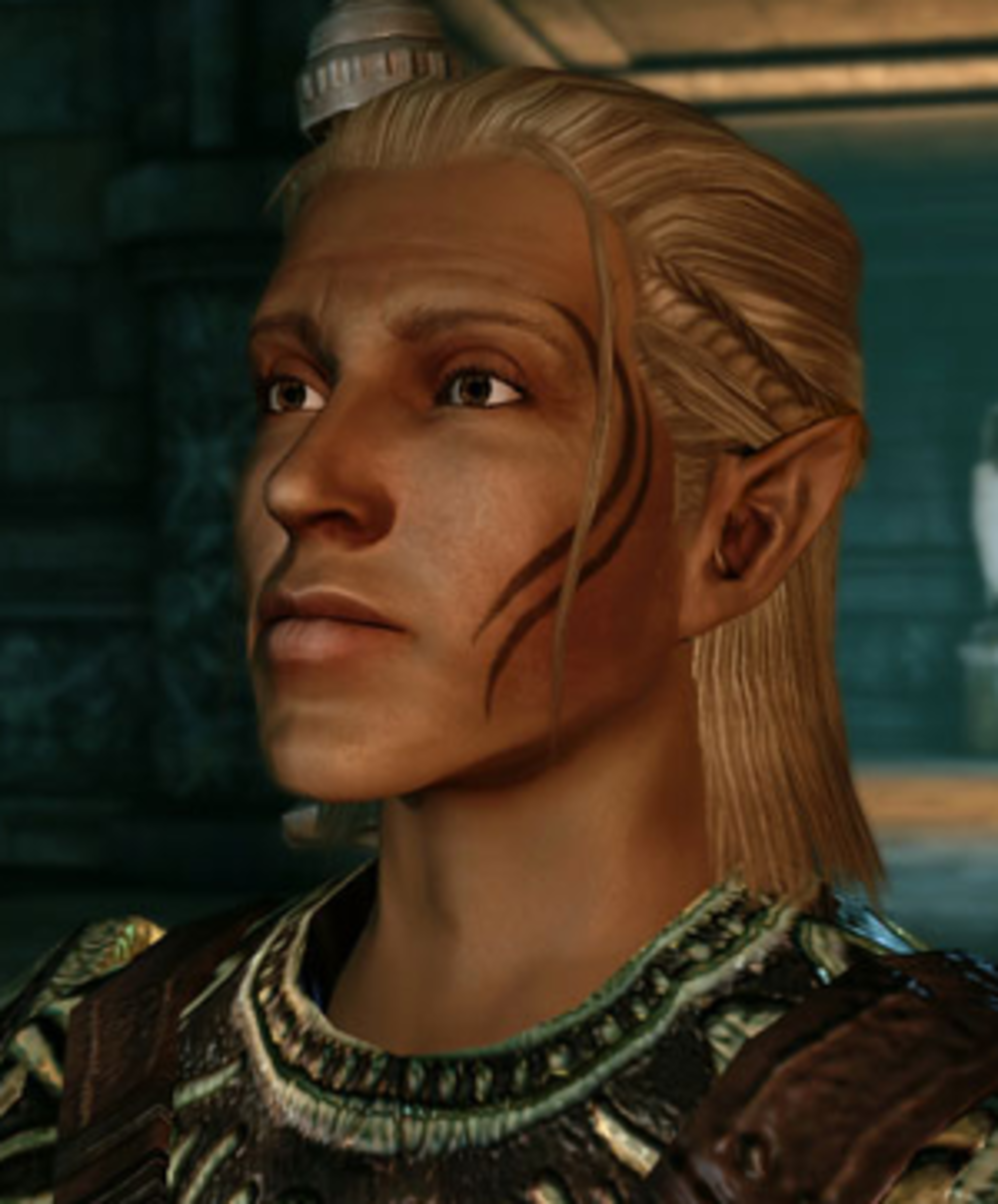 Zevran: Saucy,Bisexual, May Kill You