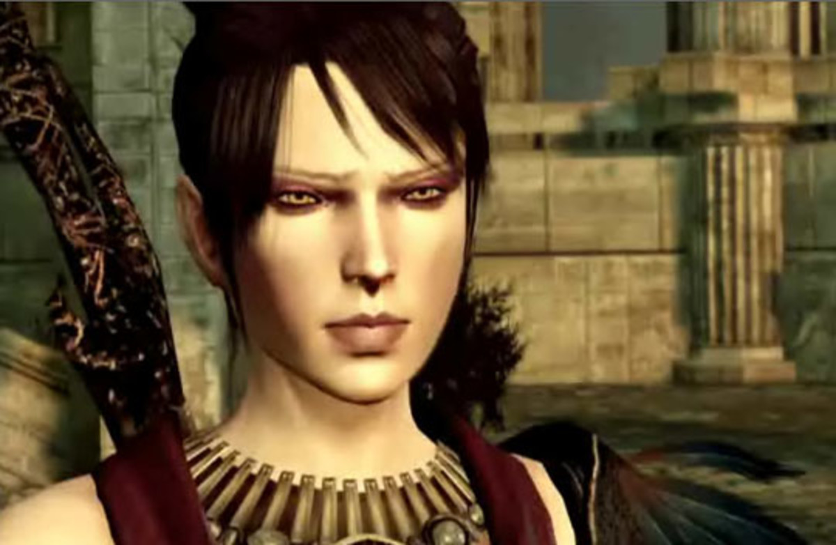 Morrigan (voiced by television's Claudia Black)