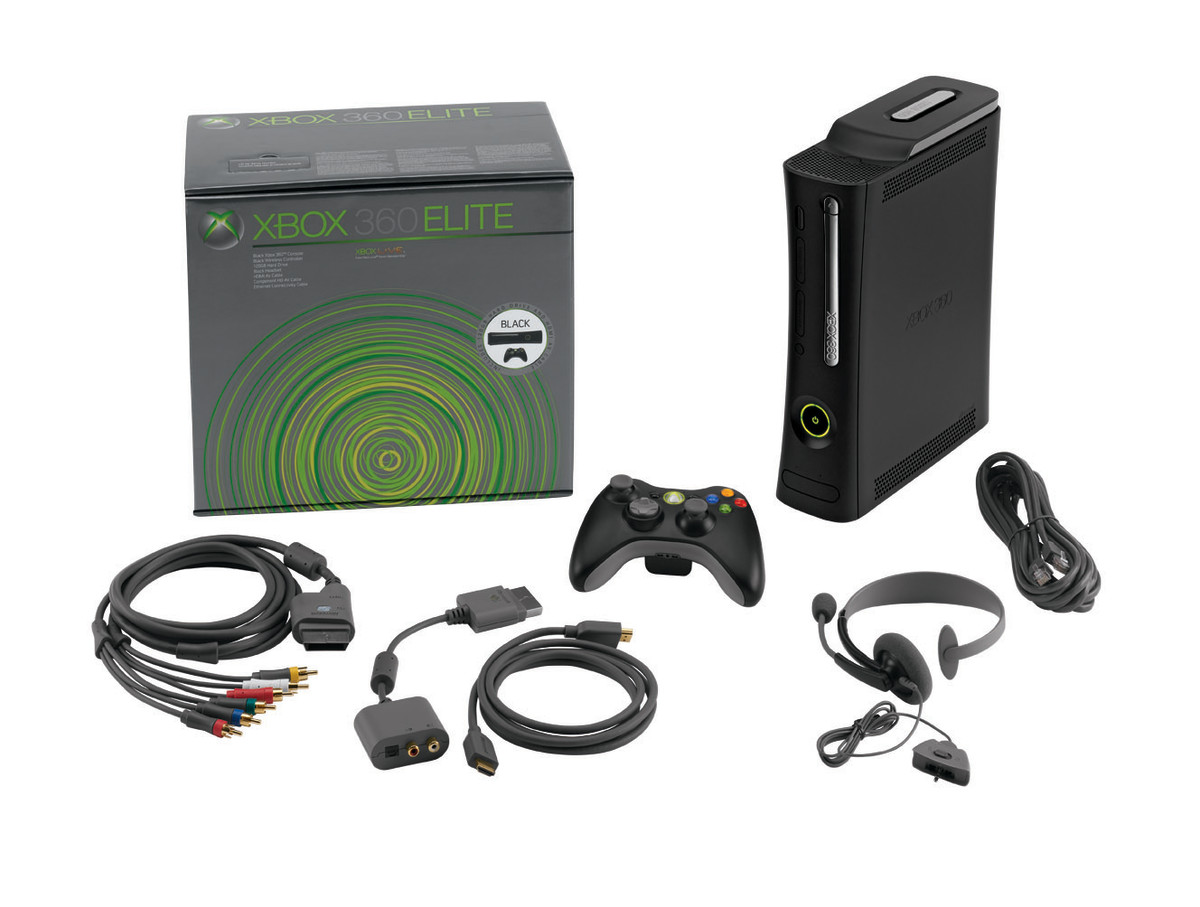 The Xbox 360 Elite Slim