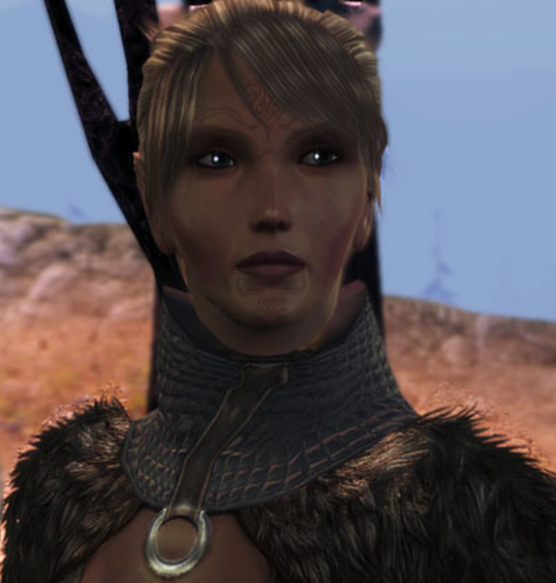 Velanna from Dragon Age Awakening