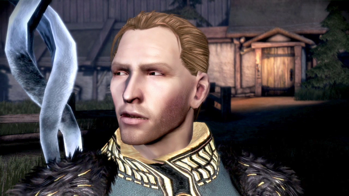 Anders from Dragon Age Awakening