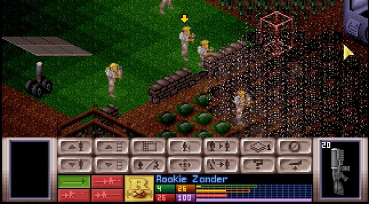 X-Com Battle SCene