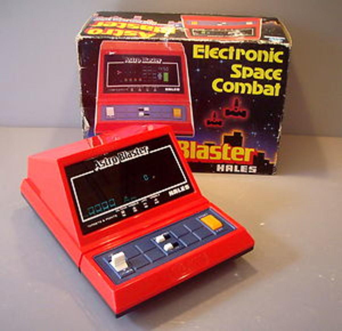 A Good Condition Astro Blaster Plus The Original Box