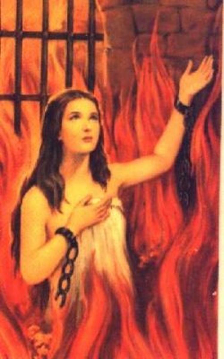 Anima Sola - Catholic Icon