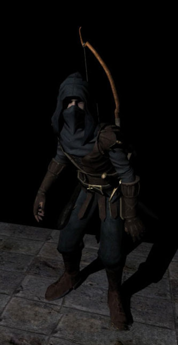 Ninja/Thief in The Dark Mod