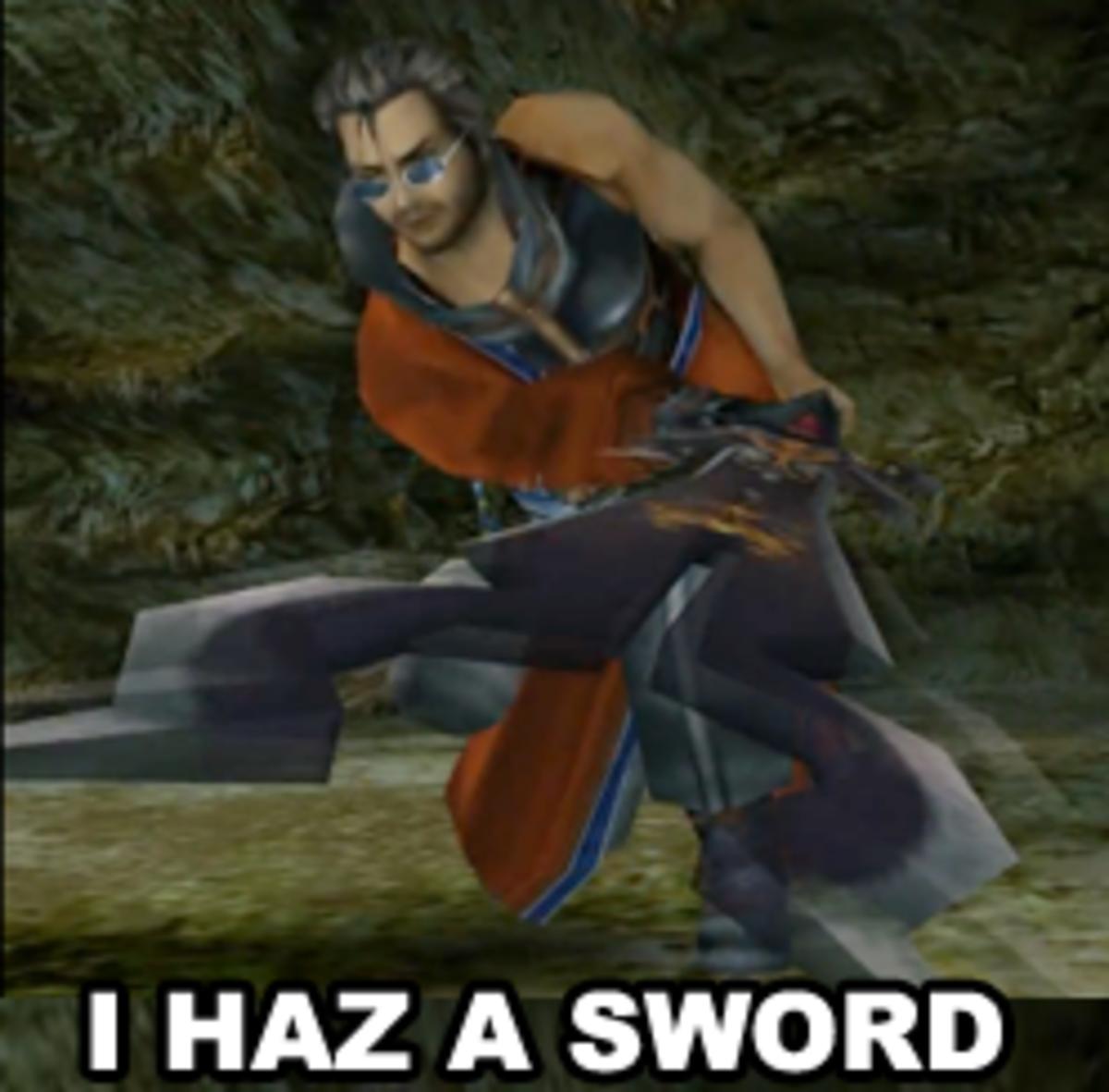 Final Fantasy Funny: Auron Masamune
