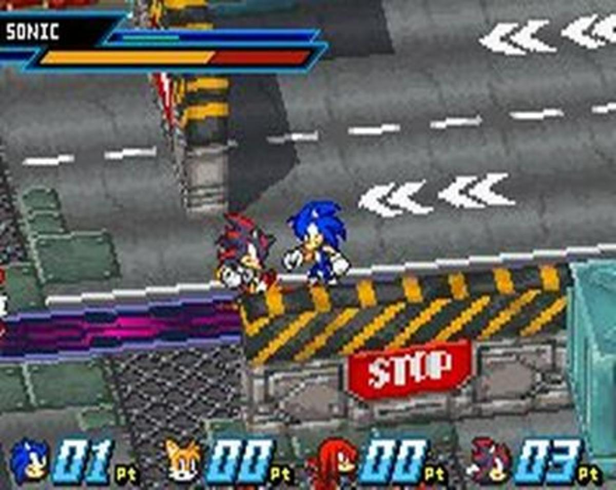 There should be 14 stages total in Sonic Battle 2, one for each playable character.