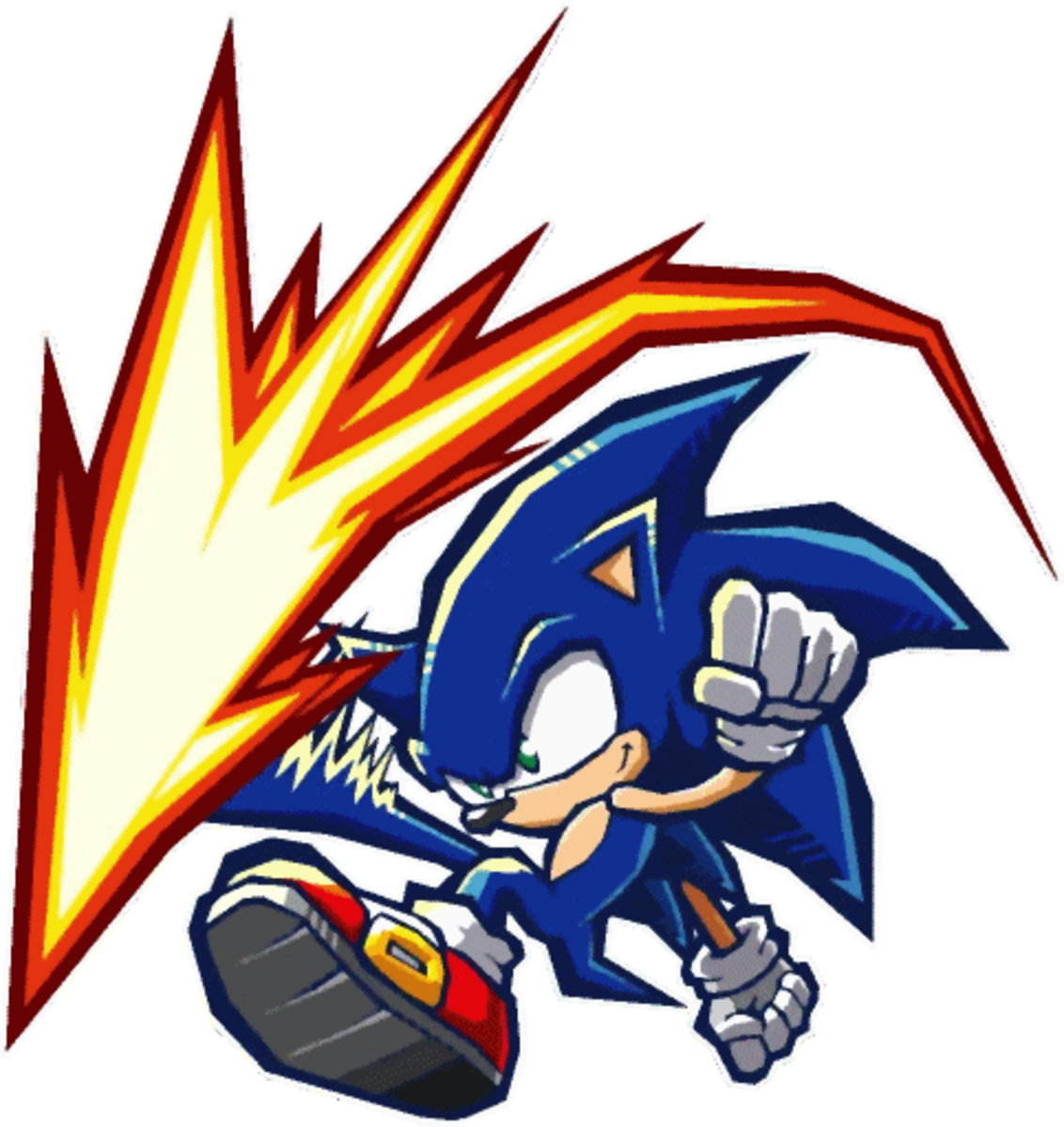 Utilizing the 3-Style System in Sonic Battle 2 would help keep fighting fresh.