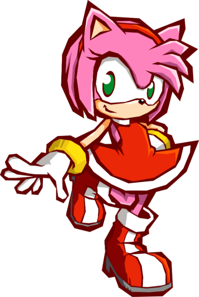 Metal Sonic should impersonate the real Sonic for Amy's story in Sonic Battle 2.