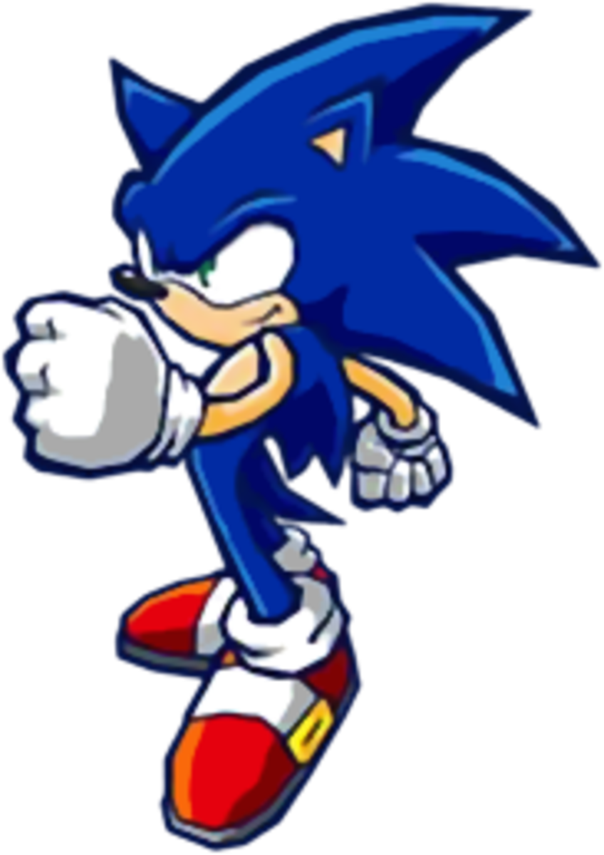 Sonic's scenario should involve tracking down and defeating Eggman, as always, in Sonic Battle 2.